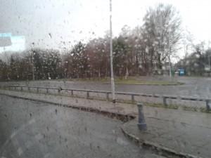 Fint väder i Glasgow