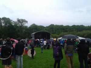Random festival i Edinburghs största park