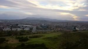 Edinburgh från sätet