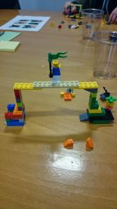 Leka med lego på konferens. Japp!