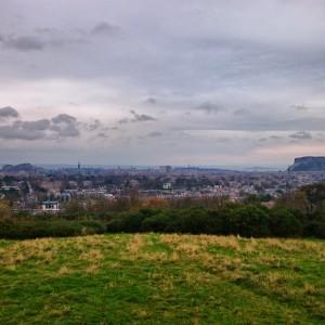 Edinburgh från Blackfordberget