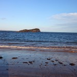 Havet i North Berwick