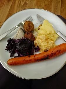 Julmat, en blandning från tre kulturer