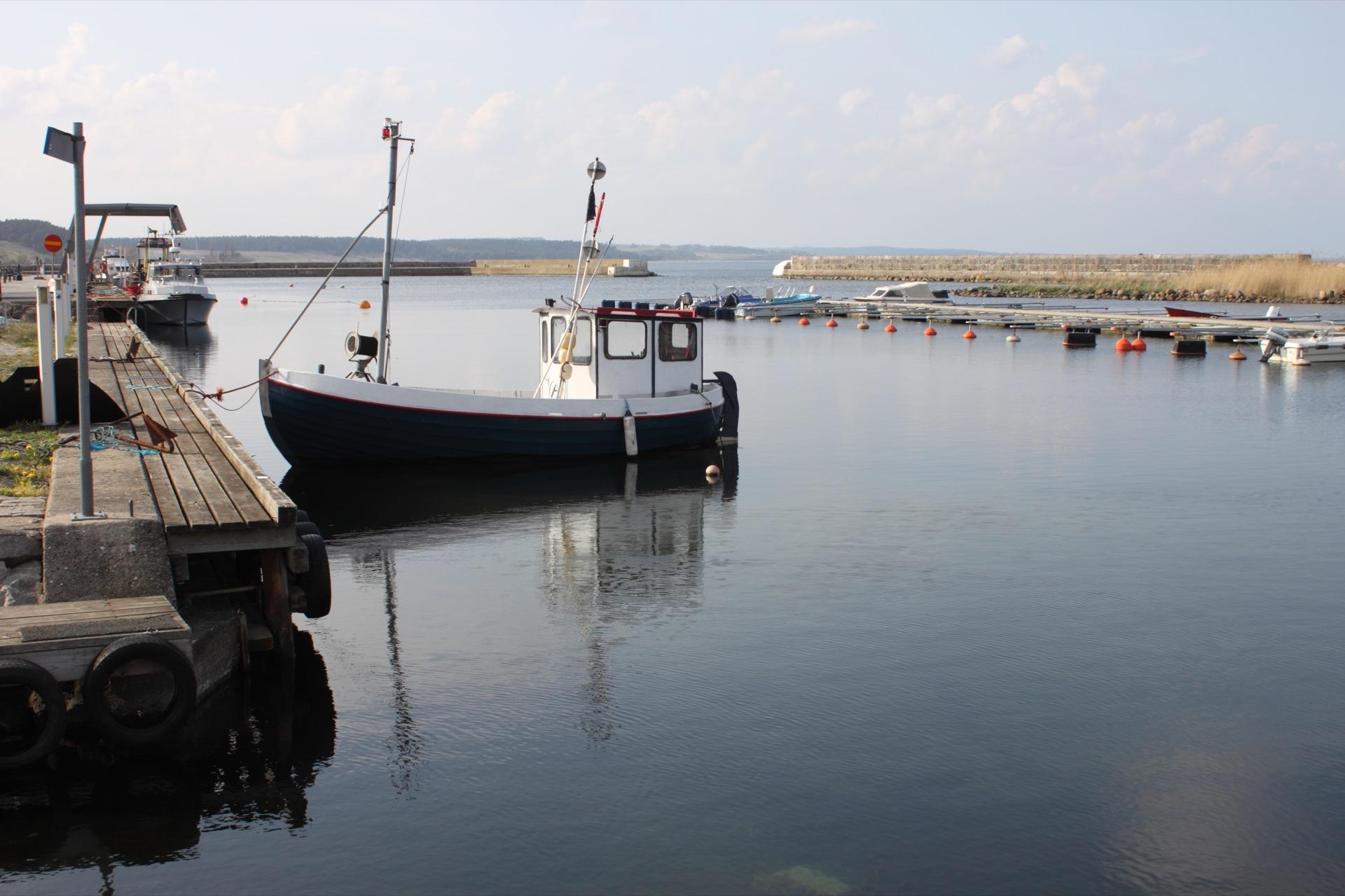 Kivik harbour