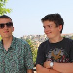 Oliver and Jacob in Vence