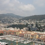 The port at Nice