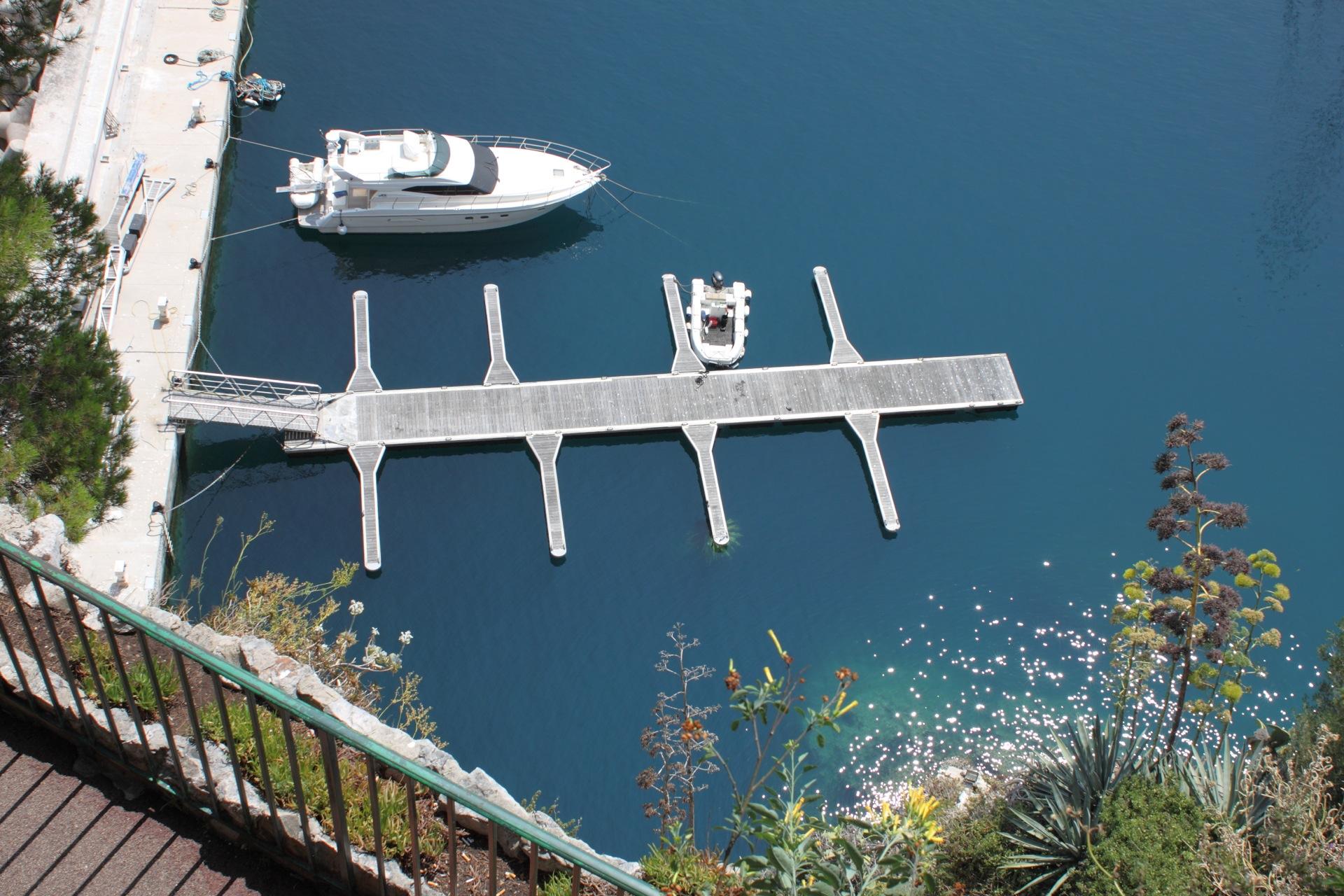 Two boats in Monaco