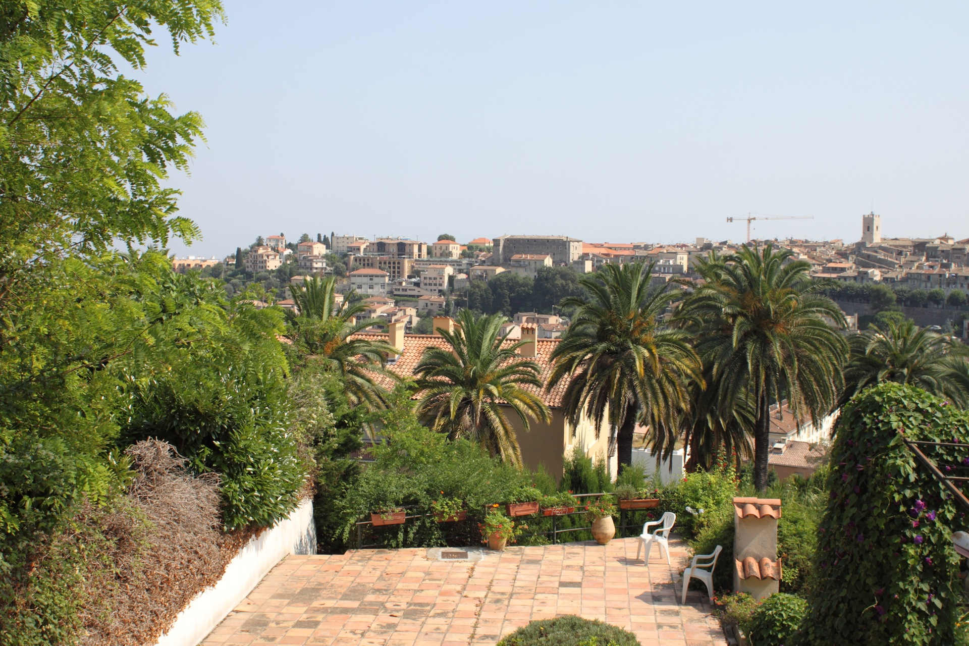 View over Vence